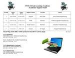Virtual Learning Academy (VLA) Main Page Image