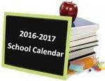 2016-2017 HCBOE School Calendar