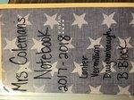 View Notebook (Lanter, Vermillion, Daughenbaugh)