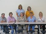 Front Row: (from left to right) Debbie Terry, Nella Honeycutt, Joan Terry, Doris Boyatt, Stacy Bowling. Back Row: (from left to right) Tammy Chambers, Danielle Brawner