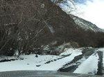 Snow in Round Mountain