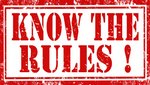 Reglas, Juego, Practica y evento Escolar