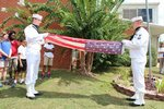 View Flag Replacement Ceremony