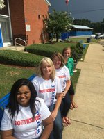 Teachers Contina Mcdonald, Cindy Felder, Vicky Thorne and Kelsey Wilson