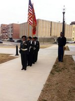 A day with the Color Guard