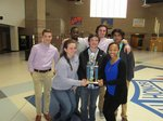 MHS Academic Team Earns First at Madison Central Quiz Bowl