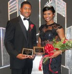 Meridian High School Most Handsome Eric Young and Most Beautiful Kai Horne