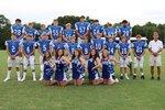 2020-2021 JV Cheerleaders and Football Team