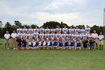 Varsity Football Team and Cheerleaders