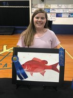 Mary Forrest Bell wins Best of Division at 2019 District III Art Show