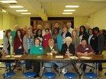 Pell City Kiwanians and PCHS Key Club Members