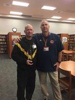 LTC Lynn pictured with Mr. Mark Briscoe