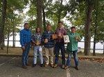 Pictured L-R: Darryl Morgan, Mason Roberts, Clay Crider, Luke Jones, and Judd Morgan