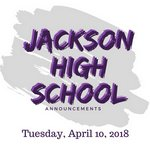 Tuesday, April 10, 2018