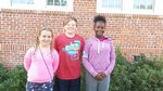 Left-Right: Cheyenne Hansey, Trustan Stack, Kahmajah Wadsworth