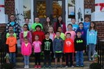 Students are listed from left to right beginning with the bottom row.  Liam Steen, Kya Kimmy, Bella Sabbagha, Peyton Butler, Van Hayes, Aiden Livingston, Eli Kednocker   Ryan Mills, Makayla Bryant, Justin Lopez – Sosa, Cathryn Folk, Dominick Lucas, Kylie Senn, Alli Morris, Maddi Stribble Maddi Gilstrap, Aerie Longshore, Ryan Condor, Bailey Meetze, Diana Lima Martinez, Ky Morris, Chance MacDermott