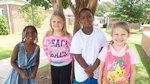 Left-Right: Samari Caldwell, Maddy Rock, Justin Meggett, June Williams