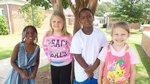 Left-Right: Samari Caldwell, Maddy Rock, Justin Meggett, June Williams