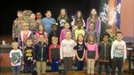 First Row:  Ayden Hamilton, Kade Livingston, Zack Desjarlais, Banks Reese, Ainsley Amick, Claire McClain, Isla Dipner, Andreas Anderson, Van Hayes Second Row: Cathryn Folk, June Williams, Lena Maysonet, Bethany Hill, Alon Williams, Emma Ruch, Seth Williams Third Row: Jake Willbanks, Blair Cromer, Emory Simpson, Gracen Shealy, Kayley Madray, Brooks Walker, Bailey Meetze