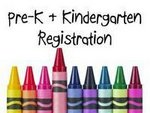 Pre-K & Kindergarten Registration 2018
