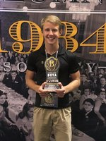 Tyler takes 4th in Speech at National Beta Convention