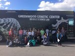 Mobile lab visits 7th grade students