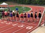 Student Athletes at Region Track Meet