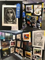 Student Art Exhibits