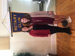 January Rotary Student and Parent