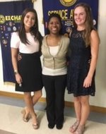 MCHS January & February Exchange Club Youth of the Month