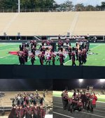 Band Students at Competition