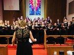 Chorus Students Performing
