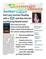 Summer Reading Celebration Flyer