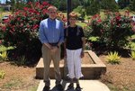 Mr. Wessinger, Teacher of the Year and Ms. Sligh, Support Staff Member of the Year