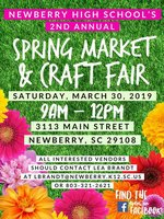 Spring Market and Craft Fair Flyer