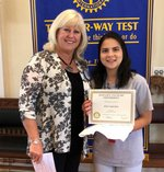 Student of the Month - May