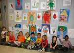 Kindergarten students at LCES