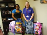 View Backpack Donation