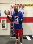View Harlem Globetrotter Michael Douglas Assembly