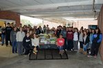 Beta Club collects cans and other food items for local pantry.