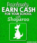 This year we are excited to be partnering with a fun, free, and truly easy fundraiser called Shoparoo! Schools nationwide are already earning hundreds and even thousands every year through Shoparoo and it's a great opportunity for us to really make a difference this year!     Shoparoo is school fundraising made easy: the free app turns pictures of your everyday shopping receipts into cash donations and sweepstakes entries for our school! Yep, it's that simple. No more cutting labels, selling door to door, or time-consuming coordinating. All you have to do is shop as you normally do, snap pictures of your receipts with the app, and voila Just shop, snap, earn!