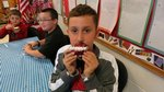5th Grader, Ben Thompson modeling his