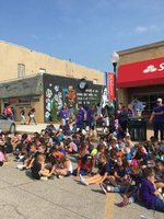 Sunset Students attend the Indian Expo Parade