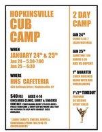 HHS Cub Camp