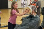 MLK Staff took pies in the face for Rotary.