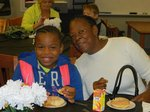 Breakfast and smiles were served up at the 2017 MLK Grandparent's Breakfast.