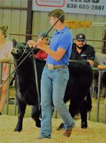 Jett showing at Prospect Show
