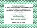 Family Lending Library