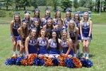 2017-2018 Volunteer High School Cheerleading Squad