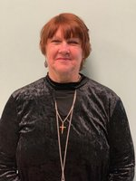 Ms. Phyllis Nuber is the Fourth Nine Weeks` Staff Member of the Month.
